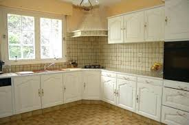 repeindre des meubles de cuisine meuble cuisine en chene ordinaire repeindre une cuisine en chene