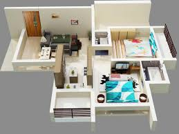 3d simple house plans designs basic floor plan top view 3 bedroom