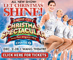 the radio city spectacular show featuring the rockettes