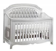 Black Convertible Baby Cribs by Natart Alexa 4 In 1 Convertible Crib Diamond Tufted Panels