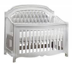 Black 4 In 1 Convertible Crib by Natart Alexa 4 In 1 Convertible Crib Diamond Tufted Panels