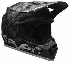 bell motocross helmet bell mx 9 mips seven checkmate matte black helmet xtremehelmets com