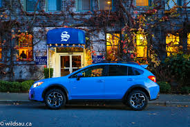 blue subaru 2017 first drive 2016 subaru crosstrek review wildsau ca