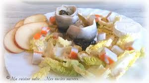 la cuisine de mes envies salade rollmops recette par ma cuisine salée mes envies sucrées
