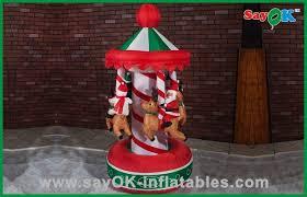 carousel decorations air blown