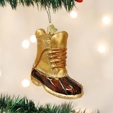 field boot ornament glass duck boots ornaments world