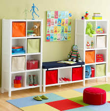 kids storage storage solution laminated wood material in stunning cool shelves