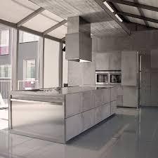 cuisine effet beton essential quadra la cuisine domotique de toncelli inspiration cuisine