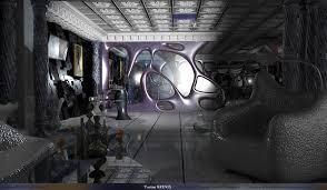 artstation sci fi home design brinis yacine