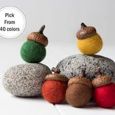 shop felted wool ornaments on wanelo