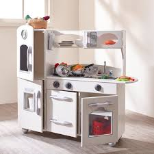 kitchen set furniture teamson wooden play kitchen set reviews wayfair