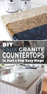 are black granite countertops out of style diy faux granite countertops in just a few easy steps the