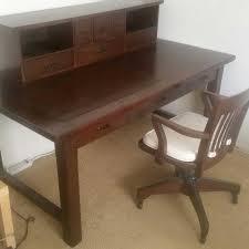 pottery barn desk with hutch pottery barn desk desk