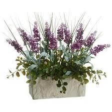 Silk Flower Arrangements Dancing Orchid U0026 Grass Artificial Flower Arrangement Clear