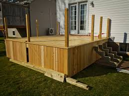 contemporary design inexpensive decks cool deck skirting ideas