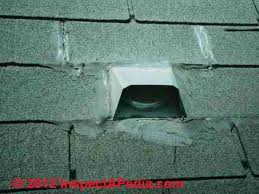 Roof Vent For Bathroom Fan Bathroom Exhaust Fan Terminations At Walls U0026 Roofs Bath Vent Duct