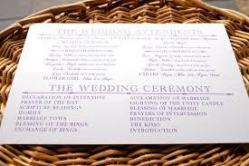 Wedding Ceremony Program Template Word Wedding Program Template 61 Free Word Pdf Psd Documents