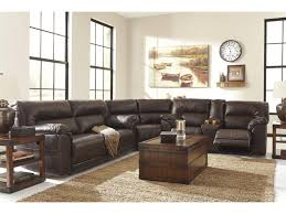 Spartan Home Decor by Benchcraft Spartan Bonded Leather Match 2 Seat Reclining Sofa