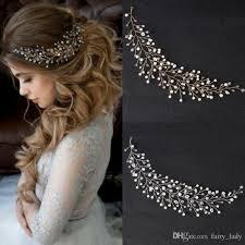 wedding crowns 2018 boho hair tiaras wedding crowns headpiece for women bling