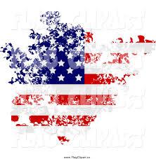 Ripped American Flag American Flag Clipart Worn