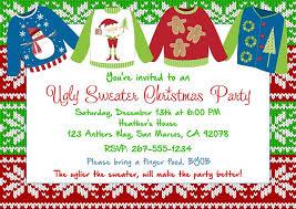 invitations sweater
