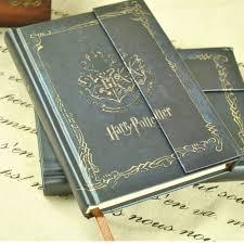 bureau en gros agenda harry potter livre vintage notebook diary book cover