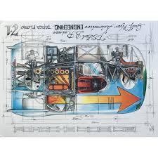 porsche cartoon drawing sebastien sauvadet diagram of a porsche 908 03 targa florio 71