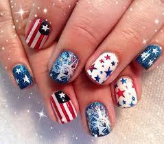 4th of july nail designs