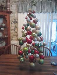 my ornament display that i made decor ornaments