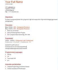 Computer Programs List For Resume Creating Resume Resume For Your Job Application