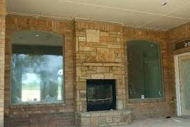 Sided Outdoor Fireplace - indoor outdoor wood fireplace double sided google pros and cons