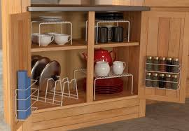 Kitchen Cabinet Spice Organizers by Kitchen Cabinet Racks Wine Door Storage Stainless Steel Spice