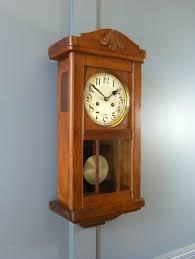 oak wall clocks with pendulums