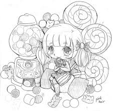 candy box chibi commission sketch 2 by yampuff on deviantart