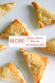 jojotastic recipe warm cheese bites with red pepper jelly an