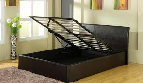 Ottoman Frames Beautiful Ottoman Bed Frames With York King Size Slate Grey Bed