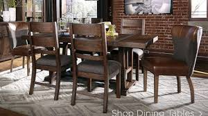 enthralling dining room tables ashley furniture homestore at table