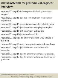 Sample Civil Engineer Resume by Download Geotechnical Engineer Sample Resume