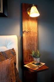 Bedside Table With Lamp Attached Best 25 Floating Nightstand Ideas On Pinterest Floating