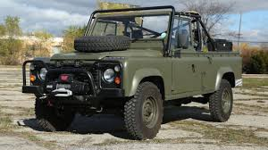 british land rover defender this land rover 110 is the military vehicle you u0027ve always wanted