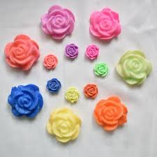 colorful roses mini flowers shaped hydrogels growing water colorful