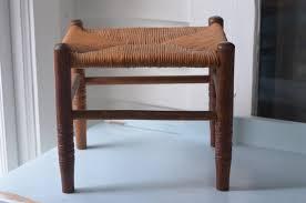 tiny farmhouse stool with rush seat etsy stools and farmhouse