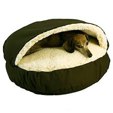 small pet beds amazon com snoozer cozy cave olive small pet beds pet supplies
