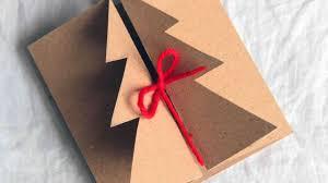 handmade christmas how to make a handmade christmas card diy crafts tutorial