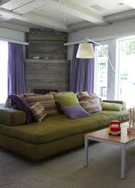 double sided sofa living room contemporary with none
