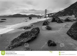 golden gate bridge black and white stock photo image 53860645