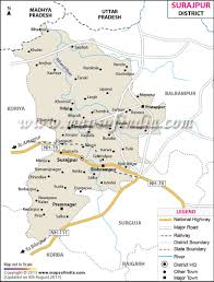 Nh Map Surajpur District Map