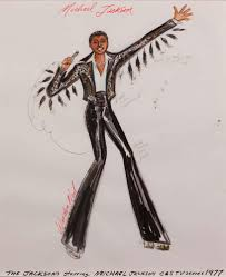 warden neil costume sketch of michael jackson for the jacksons tv