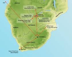 Map Of Southern Africa by Southern Africa 2012