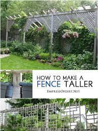 Garden Privacy Ideas Collection In Backyard Ideas 1000 Ideas About Garden